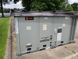 8 5 Ton Trane Rooftop Hvac Unit 460v 3ph
