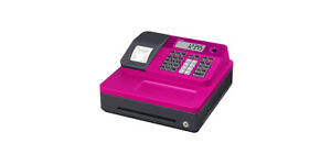 Casio Se g1sc pk Electronic Cash Register certified Refurbished Pink