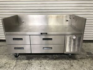 60 4 Drawer Refrigerated Chef Base Equipment Stand Delfield F17c60 8484 Nsf