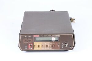 As Is Keithley 485 Autoranging Picoammeter