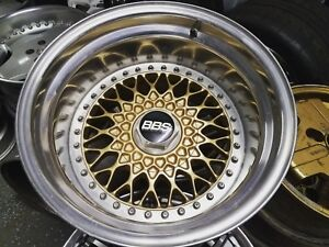 3pc Porsche Bbs Rs 5x130 Widebody Wheels Work Ccw Hre Adv1