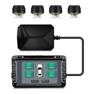 2018 Useful Tire Pressure Real time Monitoring System Usb Tpms For Most Vehicles