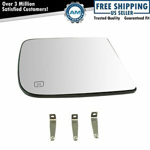 Towing Mirror Glass Heated Upper Passenger Side Rh For Dodge Ram Pickup