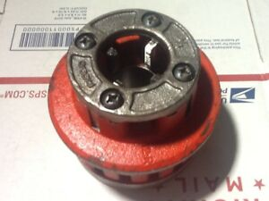 Ridgid 12 r 3 4 Npt Complete Die Head Chasers Are Chipped
