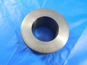 1 3775 Class Xx Smooth Plain Bore Ring Gage 1 375 0025 Oversize 1 3 8 Tool