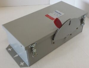 Thomas Betts Jhd361nf tb 30 Amp 600v Ac dc Nf Safety Switch Disconnect New