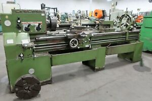 Leblond Engine Lathe 19 X 72 Taper Attach Steadyrest 12 Dia 3 jaw Chuck