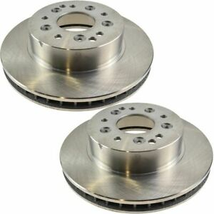Vented Rear Disc Brake Rotors Pair Set Of 2 Kit For 65 82 Chevy Corvette 5 Lug