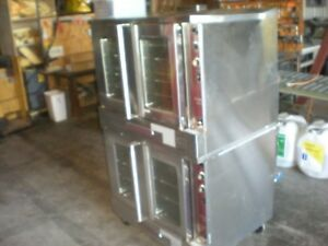 Southbend Slgs 22sc Silver Star Gas Double Stacked Convection Ovens 2
