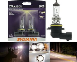 Sylvania Xtra Vision 9006 Hb4 55w Two Bulbs Head Light Replace Upgrade Lamp Fit