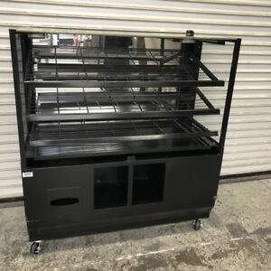 48 Dry Bakery Display Case Cabinet 8530 Bread Donut Baked Goods Retail Rack
