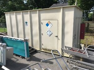 Chemical Storage Building 21 X 9 X 9 Explosion Proof Lighting And Heat