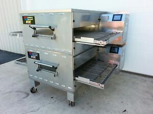 Middleby Marshall Wow Double Stack Gas Conveyor Ovens 32 Belt Width Ps640