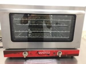 Avantco Co 16 Half Size Countertop Convection Oven 1 5 Cu Ft 120v 1600w