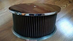 Custom Chrome Air Cleaner Filter Billet 1953 1956 Ford F100 F1 K