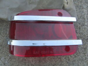 1963 Amc Rambler Ambassador Station Wagon Nos Left Tail Light Lens