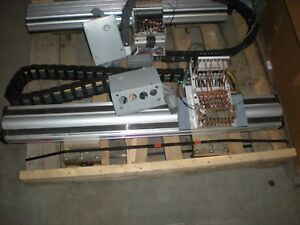 Parker Daedel Model 406t09lxrmpd13h3l2cs3z2e5a1r1p1 Linear Table