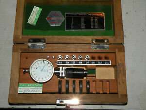 Diatest Bore Gage Gauge Set Incomplete