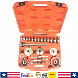 31pc Front Wheel Drive Bearing Removal Installation Tool For Bmw Audi Vw Ford Us