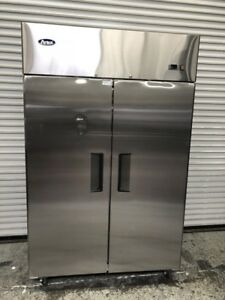 2 Door Upright Reach In Freezer Stainless New Scratch Dent Atosa Mbf8002 8512