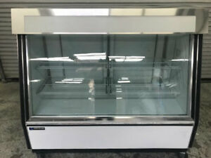 2 Glass Door Reach In Display Freezer True Gdm 35f tsl01 8546 Commercial Nsf