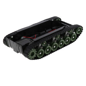 6 9v Tank Car Shock Absorbed Chassis Track Robotics For Arduino Science Toy