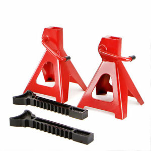 Pair Of 3 Ton Jack Stands Work Shop Garage Truck Car High Lift Tool Portable