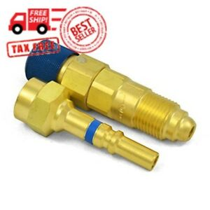 Qdb33 Argon Inert Gas Regulator To Hose Quick Connect connector Disconnect Set
