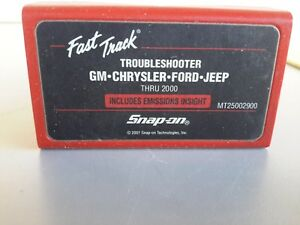 Snap On Tools Mt2500 Scanner Us Domestic Troubleshooter Cartridge Mt25002900