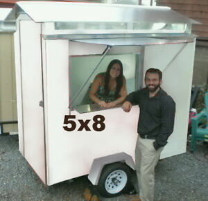 5 X 6 Food Concession Trailer