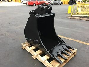 New 24 Heavy Duty Excavator Bucket For A Bobcat E85 W Coupler Pins