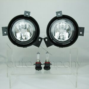 For 2001 2003 Ford Ranger Replacement Fog Lights Pair Clear