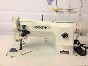 Brother Ls2 f52a Walking Foot Big Bobbin 110v Leather Industrial Sewing Machine