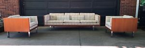 Danish Mid Century Modern Sofa And Chairs By Jydsk Mobelvaerk Denmark For Ic