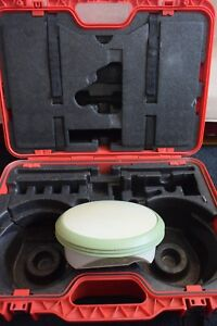 Leica Gps Model Atx1230 P n 733250 And Carrying Case Nothing More