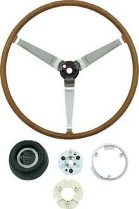 Oer Py138k 1969 1970 Pontiac Firebird Gto Lemans Deluxe Wood Steering Wheel Set