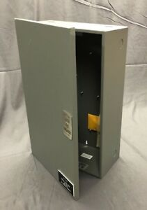 Electrical Enclosure Alarm Box Metal Latched Hinged Cover 16 X 10 X 5 Nice