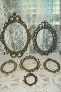 Italian Florentine Filigree Ornate Metal Picture Frames Chic Shabby Paris Apt 6