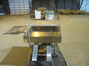 Atlantic Food Bars Mit4836m fsk ss tm 4 Full Service Mobile Ice Table W Stand