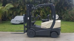2008 Crown Forklift C5 Forklift 5000 Lbs Propane Low Hours