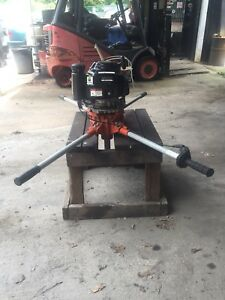 General Equipment Two Man Auger