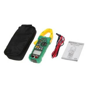 Mastech Ac Dc Voltage Digital Clamp Meter Multimeter 1000a 6000 Counts