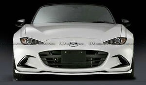 New Front Bumper Duct Cover Parts For Mazda Mx5 Nd Nd5rc Miata Roadster Sblz Frp