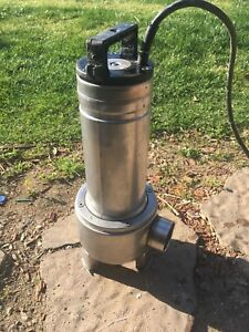 Goulds Pump Stainless 1 Hp 230 V Single Phase