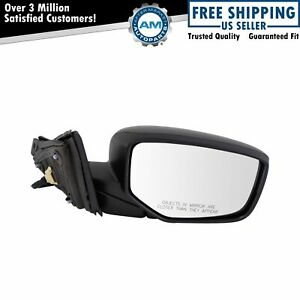 Mirror Power Smooth Black Passenger Side Right Rh For Honda Accord Coupe New