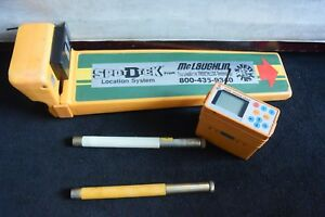 Spot D Tek Locator Set Model Iii Locator Wand Remote Display And 2 Sondes