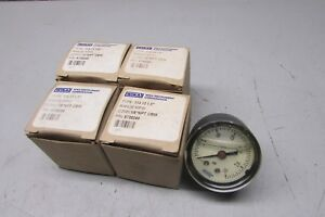 Wika 9738240 Pressure Gauge 1 5 30psi 1 8 Npt Cbm Lot Of 4