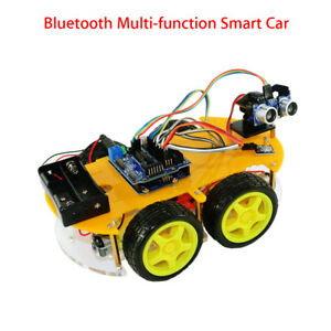 Multifunction Bluetooth Controlled Smart Car Kit For Arduino Professional L298n