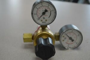 Harris 601 Regulator With Gauges Looks New W paperwork Free Shipping