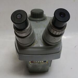Bausch Lomb Stereo Microscope 0 7x 3x Carl Zeiss Kpl 8x Eyepieces Without Base
